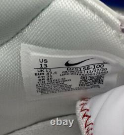 Nike Air Max Lebron 7 Sz 13 Dodgers DJ5158-100 White Royal Rare Limited LA LBJ