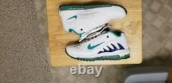 Nike Air Total Griffey Max 99 White/New Green/Royal Blue 488329-100 size 11 rare