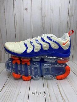 Nike Air VaporMax Plus USA Mens Size 14 Royal Blue Crimson White DM8317 100 Rare