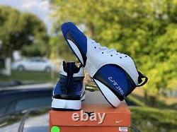 Nike Air Zoom Huarache 64 TB NC Duke Blue Devils PE Royal RARE Size 12 DS NCAA
