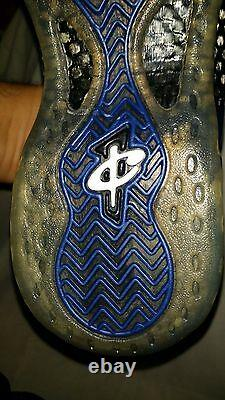 Nike Foamposite Royal Blue Sz 9.5 (2011 Penny Hardaway Orlando Colorway) Rare DS