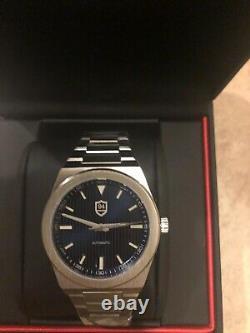 Nine Four Watches Successor Automatic NH35 Rare Oak Homage AP Royal Blue Steel