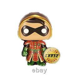 PREORDER RARE CONFIRMED Funko Pop! DC Imperial METALLIC Robin CHASE (500 Made)