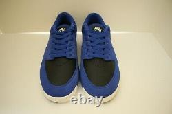 RARE 2013 Nike Paul Rodriguez 7 SB Suede/Leather Skate Shoes 2 Laces Game Royal