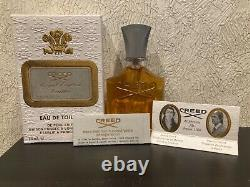 RARE CREED ROYAL ENGLISH LEATHER EDT For Men 2.5oz/ 75ml