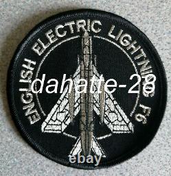 RARE Royal Air Force ENGLISH ELECTRIC LIGHTNING F6 cloth patch
