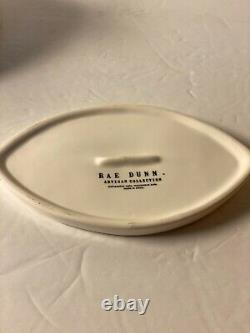 Rae Dunn Have A Royal Day Crown Queen Butter Cheese Dish Excellent RARE