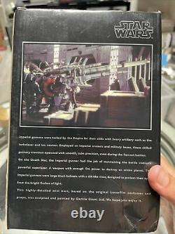 Rare 10 Years Gentle Giant Star Wars AFX Exclusive Imperial Gunner Bust Sealed
