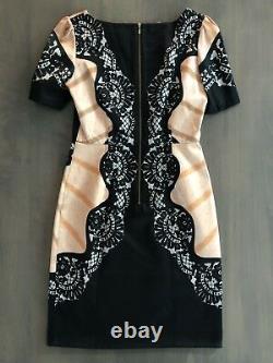 Rare! Temperley London Satin Classic Fan Dress, US 6 UK 10, ASO Royal Celebrity