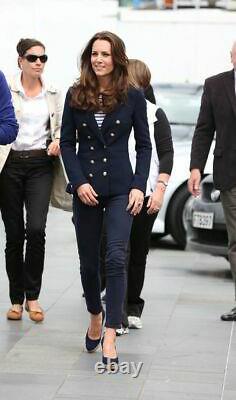 Rare ## Zara Navy Blazer Royal## L ##