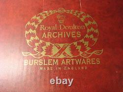 Royal Doulton Flambe'quinghai Fu Dogs' Ba34 &ba35 Rare Brand New & Boxed