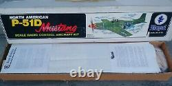 Royal Maratuka P-51D Mustang Sr. RC Airplane Warbird Kit Vintage Japan Rare kit
