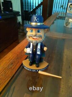 Royals Mensch on a Bench Bobblehead RARE Proceeds to The J KC