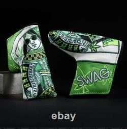 SWAG ROYAL HIGHNESS NEW BLADE putter headcover GOLF Head Cover Scotty 420 RARE
