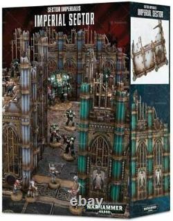 Sector Imperialis Imperial Sector Warhammer 40k Terrain New OOP Rare