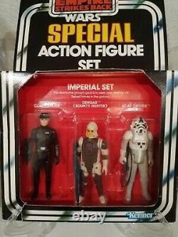 Star Wars 1981 ESB Imperial Set 3 Pack MISB Ultra Rare! Empire Strikes Back NEW