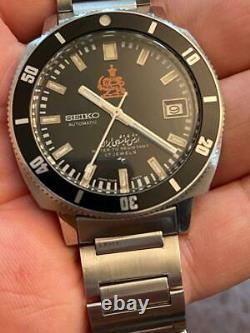 UNWORN NEW Rare Vintage Seiko Diver 7005-8140 Iranian Royal Military