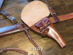 Ultra Rare WW1 Imperial Russian Army Officer M1912 Leather Equipments