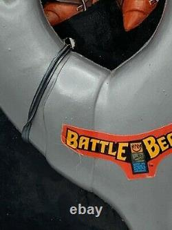 Vintage 1987 Battle Beasts Warrior Weapon Imperial Toys Battle Silver RARE READ