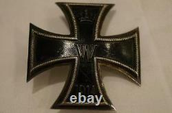 WW1 Imperial German Iron Cross Cased Named Prinz Alfons Bavaria Royalty RARE