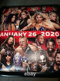 WWE Royal Rumble 2020 Houston Souvenir Ringside Event Chair RARE Heavily Padded