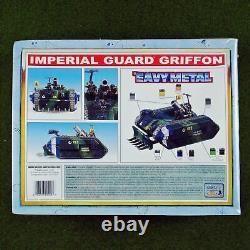 Warhammer 40K Imperial Guard Griffon NIB (Plastic/Metal) Rare OOP Games Mortar