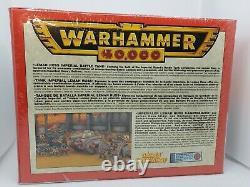 Warhammer 40k Imperial Guard Leman Russ Tank SEALED OOP Old Box BNIB Rare Citade