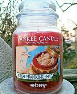 Yankee Candle Retired World Journeys ROYAL FRANKINCENSE Large 22 oz. RARENEW